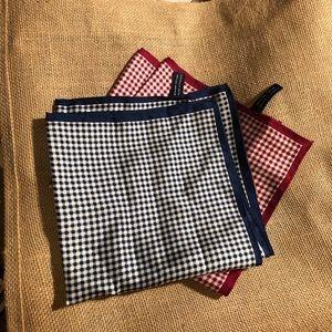 Bundle of Silk Pocket Squares (4)